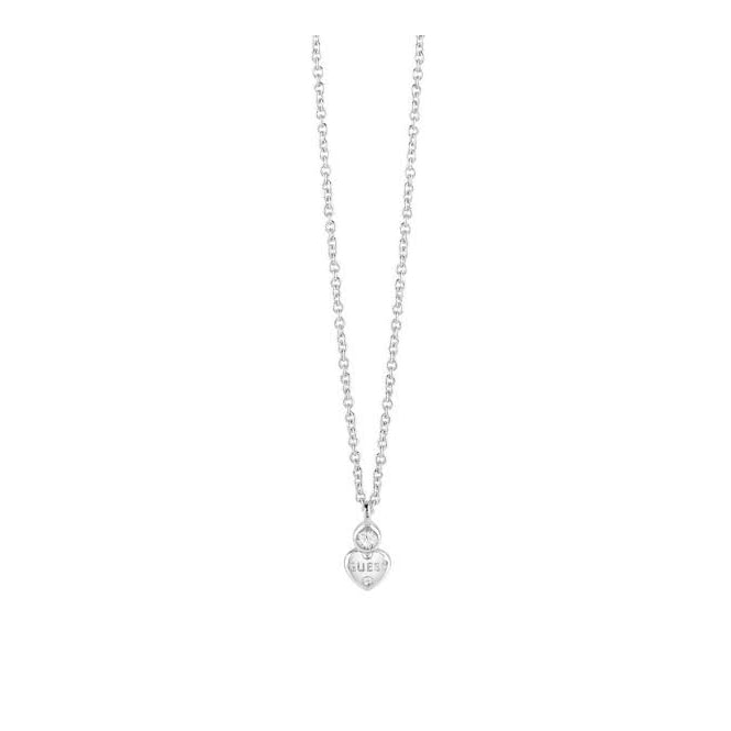 Guess Jewellery Guessy Little Heart Necklace UBN82010