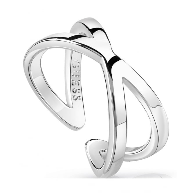 Guess Jewellery Hoops I Did It Again Ring UBR84004-54