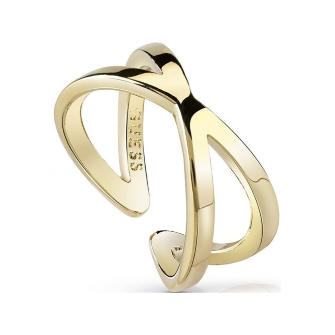 Guess Jewellery Hoops I Did It Again Ring UBR84005-54