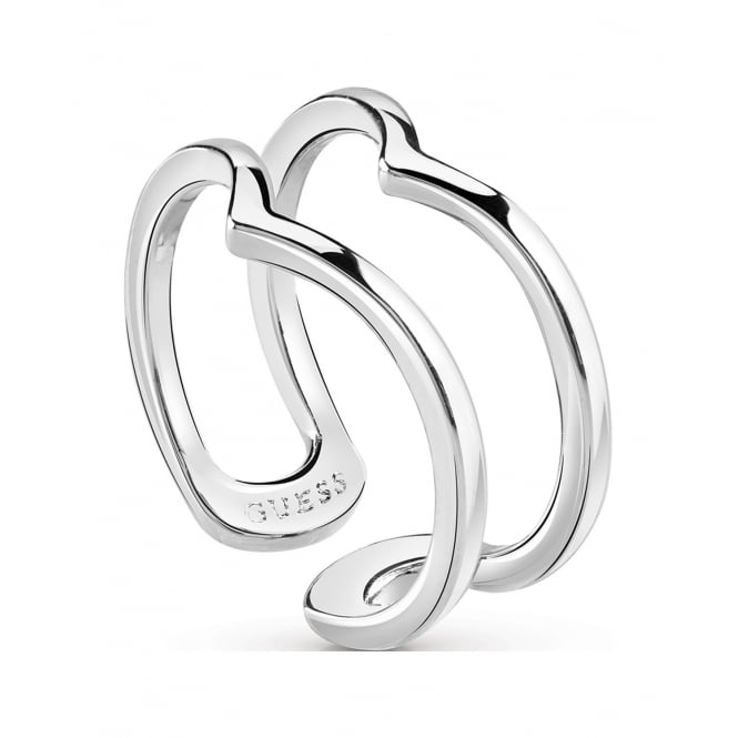 Guess Jewellery Hoops I Did It Again Ring UBR84008-54