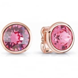 Guess Jewellery Miami Rose Earrings UBE83046