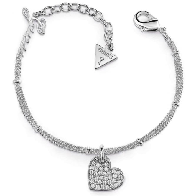 Guess Jewellery My Sweetie Heart Bracelet UBB84077-L