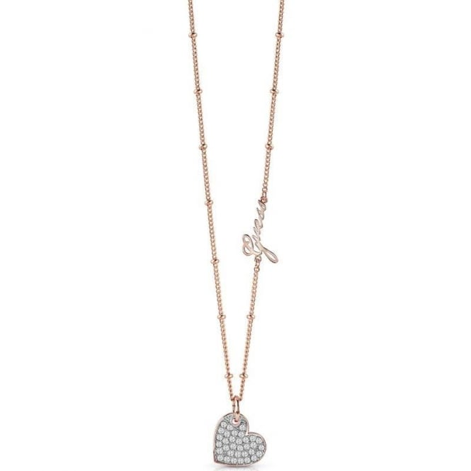 Guess Jewellery My Sweetie Pave Necklace UBN84042