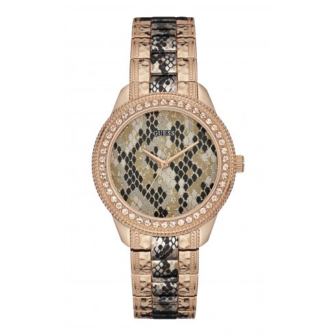 Guess Ladies' Serpentine Watch W0624L2