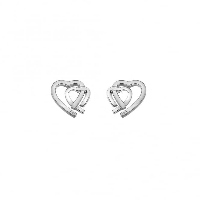 Hot Diamonds Amore Heart Stud Earrings DE531