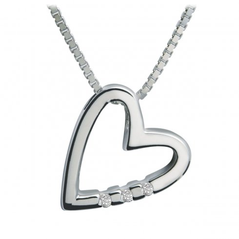 Hot Diamonds Just Add Love Pendant DP007