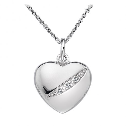 Hot Diamonds Ladies' Sterling Silver Shooting Star Pendant DP398