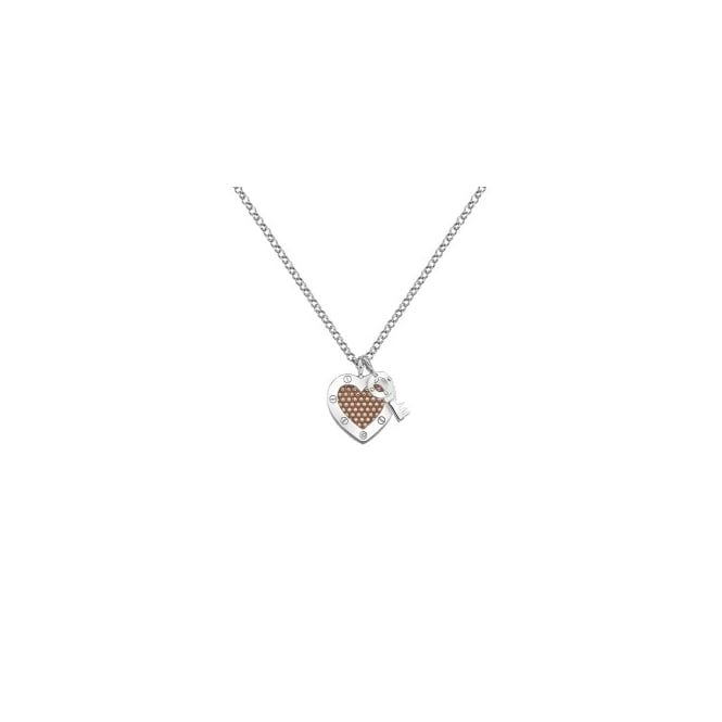 Hot Diamonds Lock in Love Pendant DP663