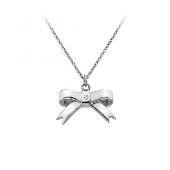 Hot Diamonds Silver Ribbon Pendant DP630