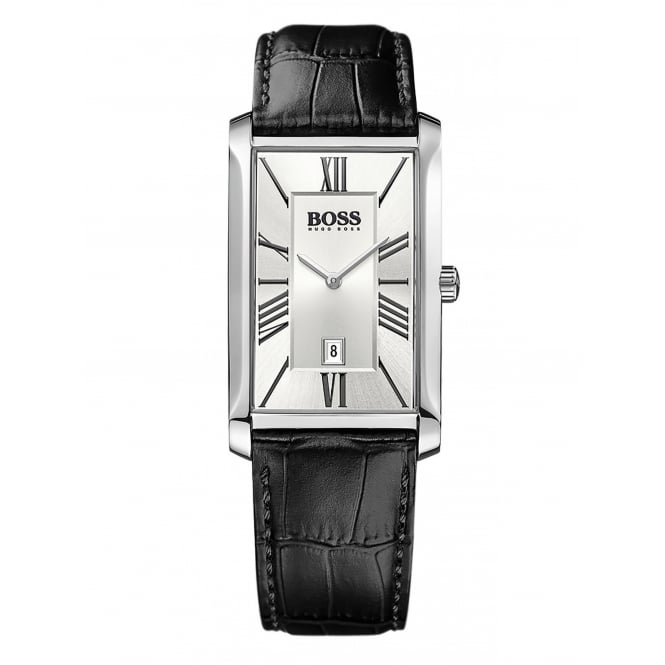 Hugo Boss Men's Admiral Leather Strap Watch 1513435