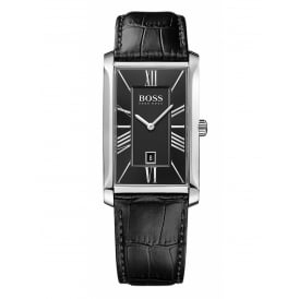 Hugo Boss Men's Admiral Leather Strap Watch 1513437