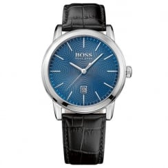 Hugo Boss Men's Classic Leather Strap Watch 1513400