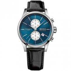 Hugo Boss Men's Leather Strap Watch 1513283