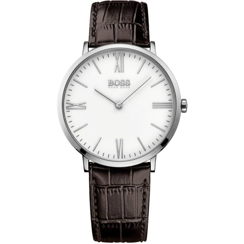 Men S Leather Strap Watch 1513373