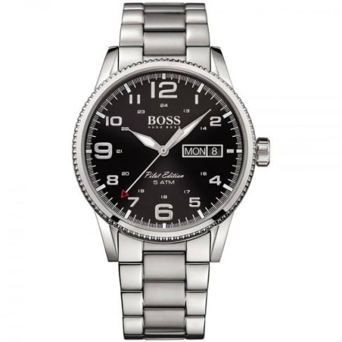 Hugo Boss Men's Vintage Pilot Bracelet Watch 1513327