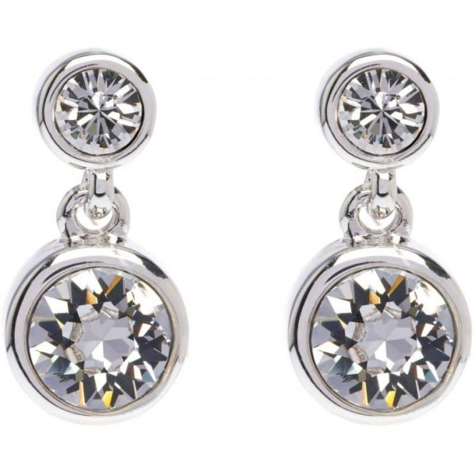 Karen Millen Jewellery Crystal Dot Drop Earrings KMJ879-01-02