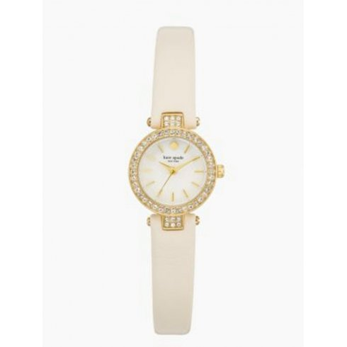 Kate Spade New York Ladies' Tiny Pave Metro Watch 1YRU0718