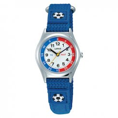 Lorus Kid's Time Teacher Blue Strap Watch RG247KX9
