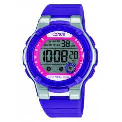 Lorus Ladies' Digital Purple Watch R2361KX9