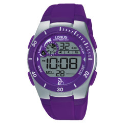 Lorus Ladies' Purple Digital Watch R2381KX9