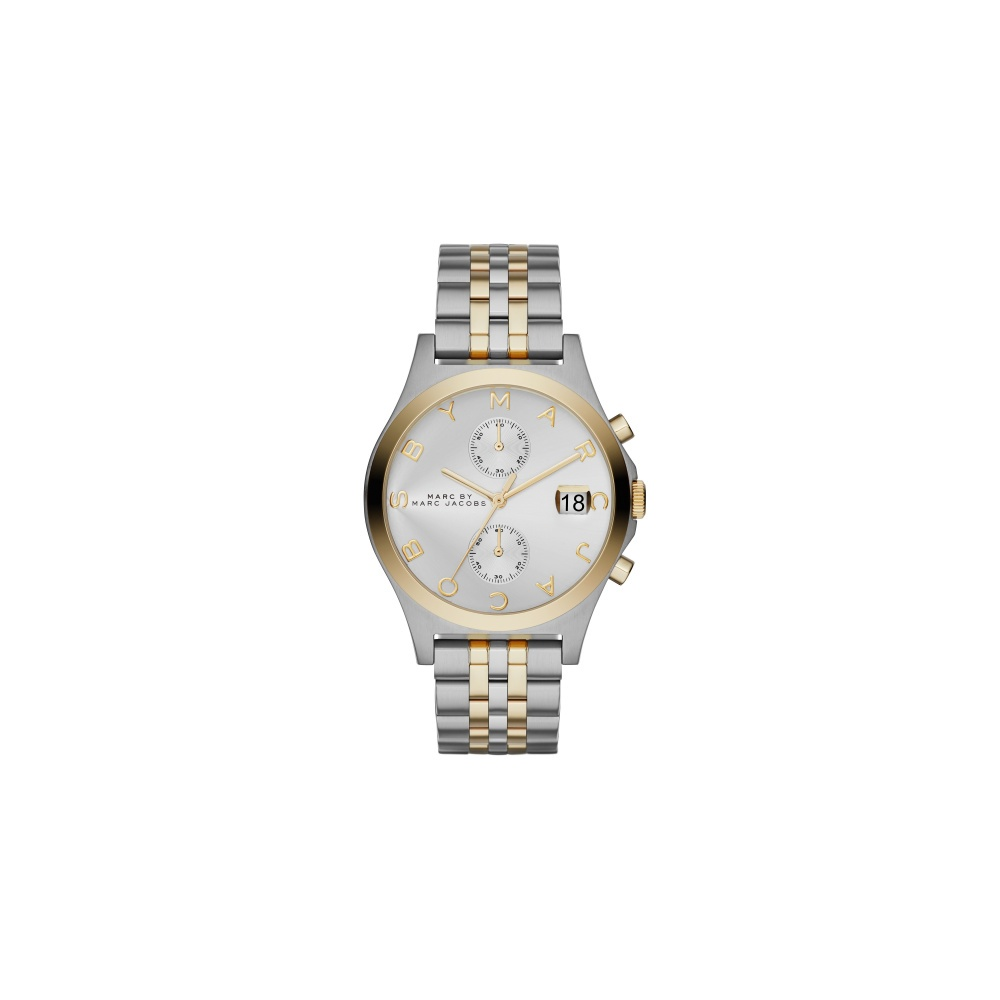 5f4acb04cb5e7 Marc Jacobs Marc by Marc Jacobs The Slim Chrono Watch MBM3381 ...