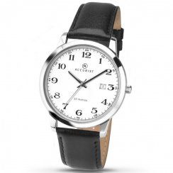 Men's Accurist Leather Strap Watch 7026