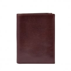 Men's Fossil Truman Brown Leather Money Travel Wallet Wallet ML3539603