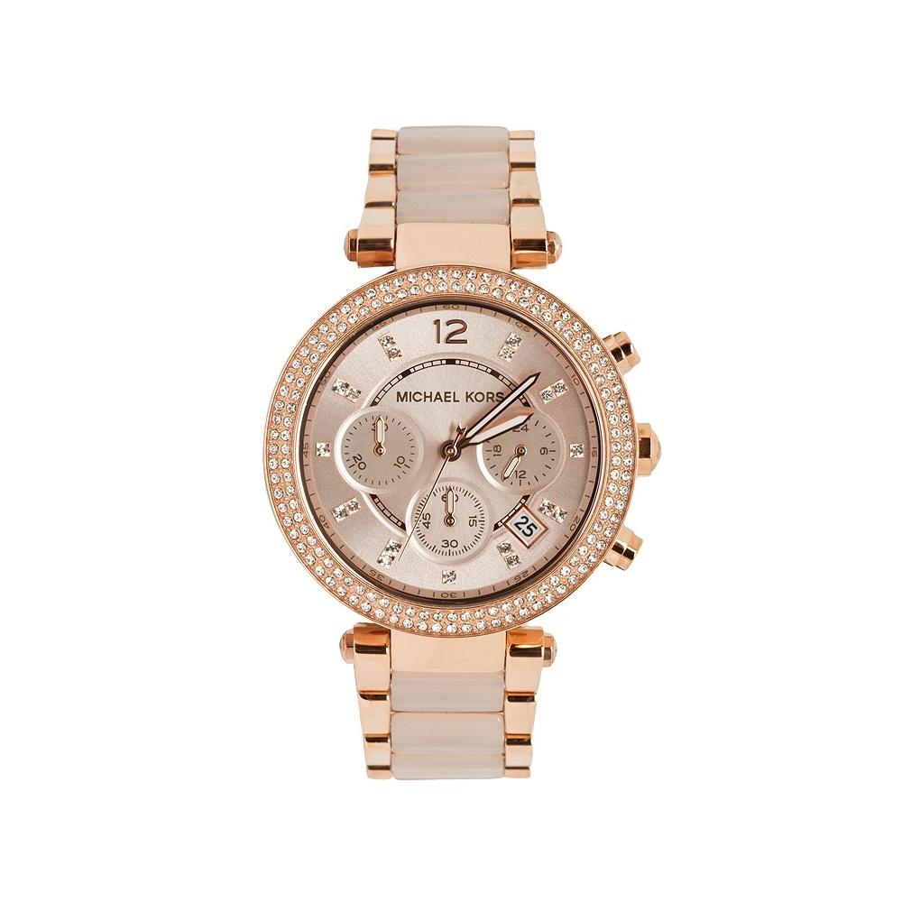 dfcc9922e29c Michael Kors Ladies  Parker Chronograph Watch - MK5896 - Watches ...