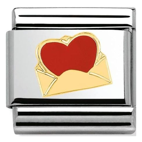 Nomination Classic Envelope With Heart Charm 030253/24