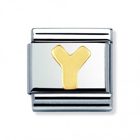 Nomination Classic Letter Y Charm 030101/25