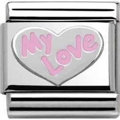 Nomination Classic My Love Heart Charm 330202/31