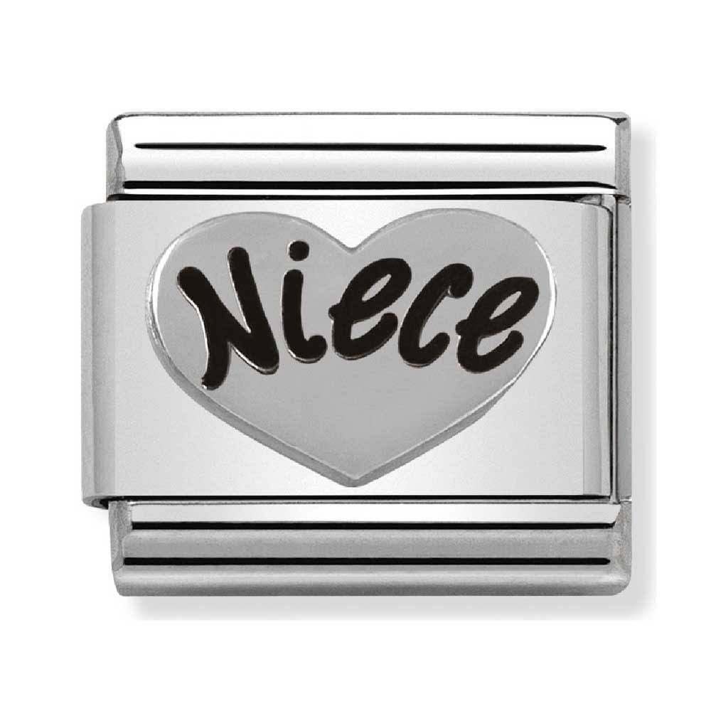 Nomination Classic Niece Charm 330101 16 - Jewellery from Lowry ... 136c9d36a6