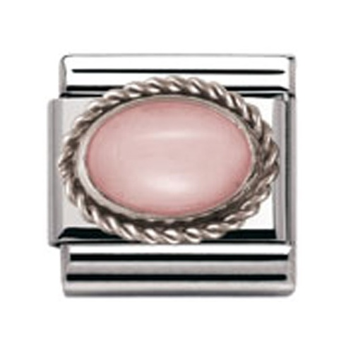 Nomination Classic Pink Opal Charm 030509/22