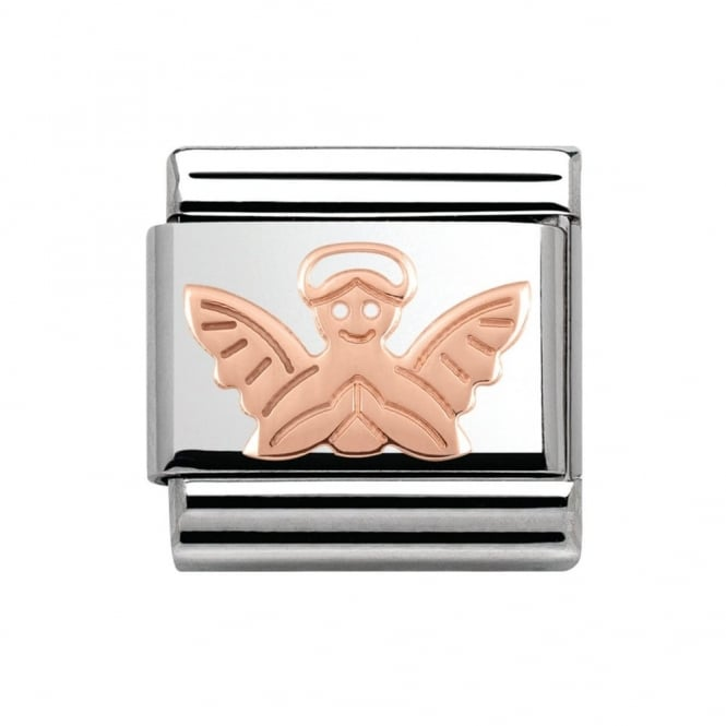 Nomination Classic Rose Gold Angel Charm 430104/14
