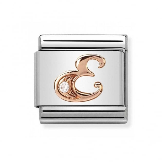 Nomination Classic Rose Gold Letter E Charm 430310/05