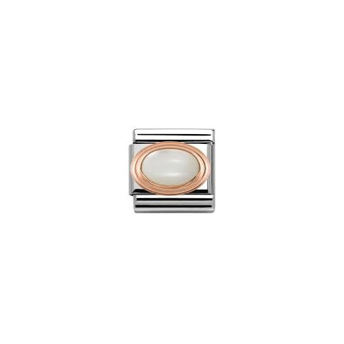 Nomination Classic Rose Gold Mother of Pearl Charm 430501/12