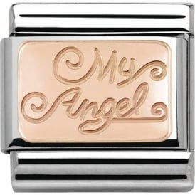Nomination Classic Rose Gold My Angel Charm 430101/21