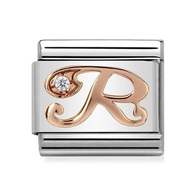Nomination Classic Rose Gold R Charm 430310/18