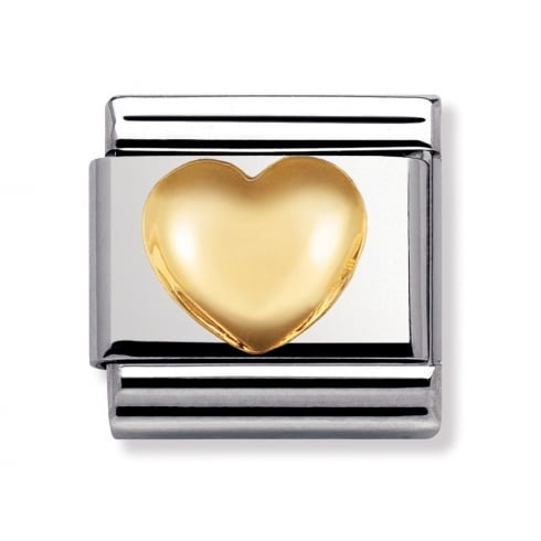 Nomination Classic Rounded Heart Charm 030116/01