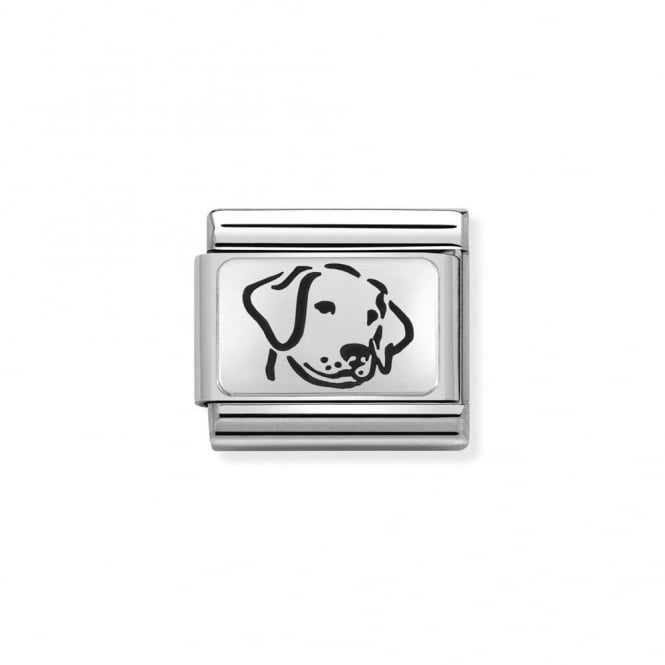 Nomination Classic Silver Dog Charm 330109/06