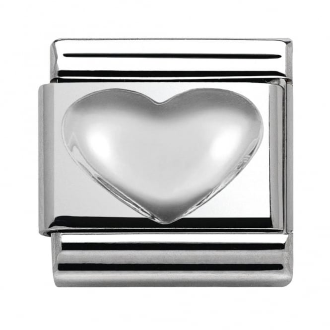 Nomination Classic Sterling Silver Heart Charm 330106/01