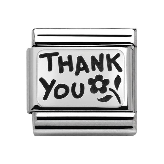 Nomination Classic Thank You Charm 330102/42