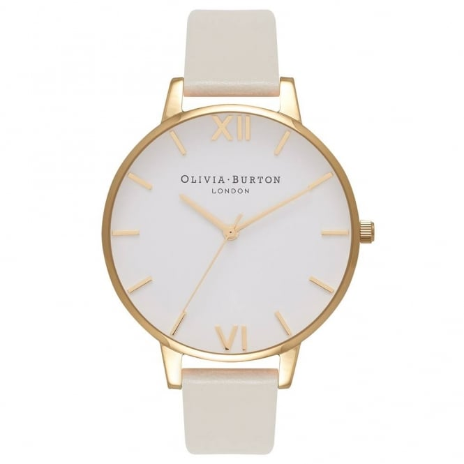 Olivia Burton Ladies' Vegan Friendly Nude & Gold Watch OB16BDV03