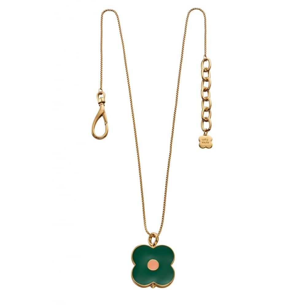 Orla Kiely Jewellery Abacus Flower Necklace N4155 - Jewellery from ... 3abe1d887