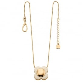 Orla Kiely Jewellery Cream Flower Necklace N4022