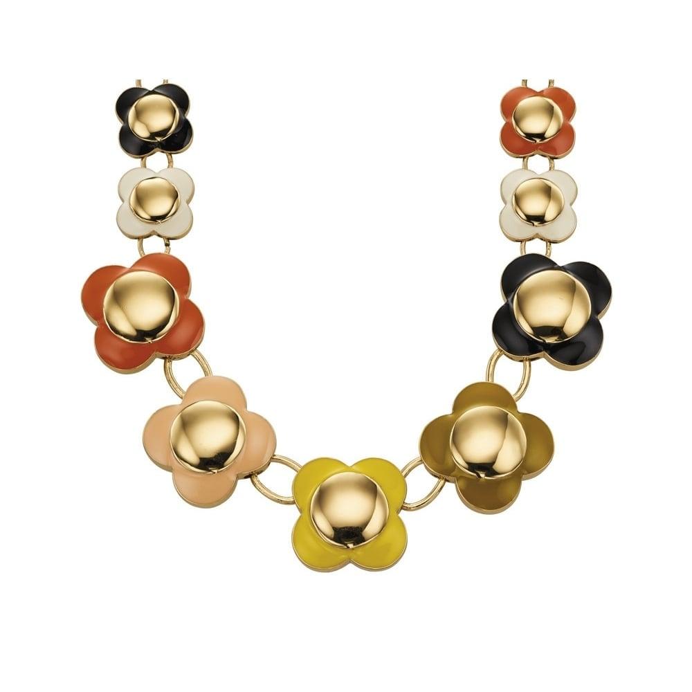 Orla Kiely Jewellery Daisy Chain Necklace N4021 - Jewellery from ... d34bb2b78
