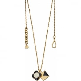 Orla Kiely Jewellery Flower K Necklace N4126