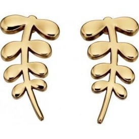 Orla Kiely Jewellery Leaf Earrings E5433
