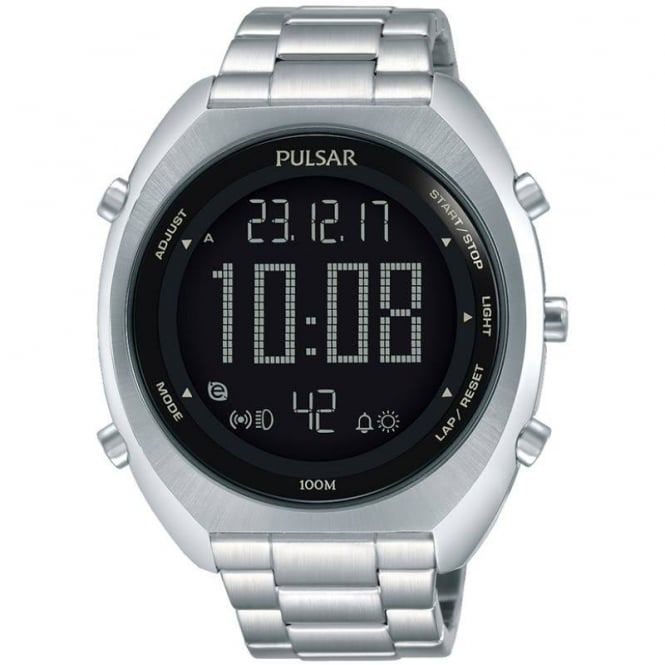 Pulsar Men's Alarm Chronograph Watch P5A015X1