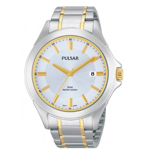 Pulsar Men's Solar Powered Bracelet Watch PX3047X1